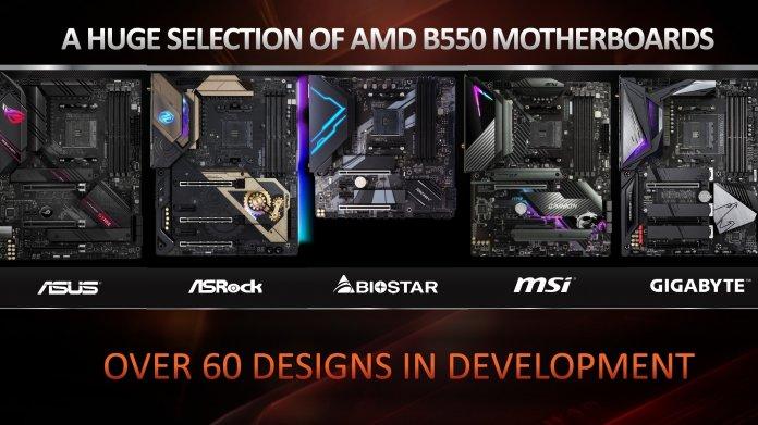 AMD Ryzen 3000: Lüfterlose B550-Mainboards mit PCI Express 4.0