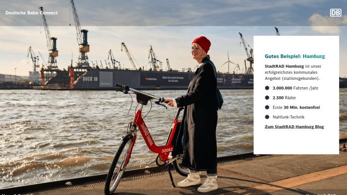 DB-Connect-Chef: Fahrrad wird weiter boomen