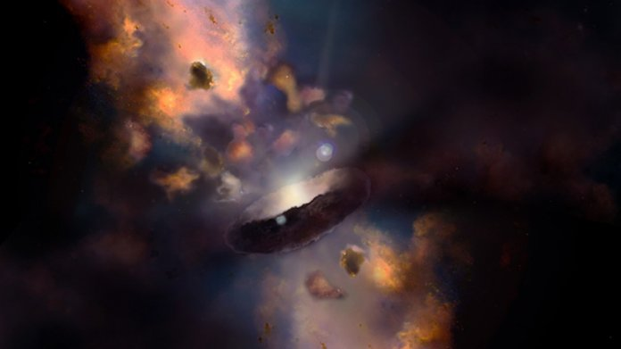 Astronomie: Schnellstwachsendes Schwarzes Loch wächst täglich um eine Sonnemasse