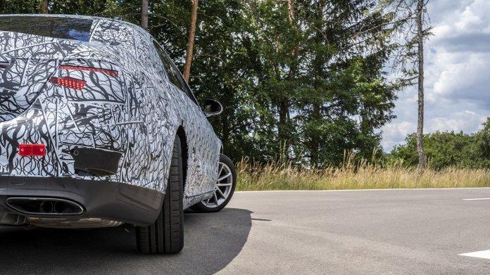 Mercedes S-Klasse: Mitfahrt im Vorserienmodell