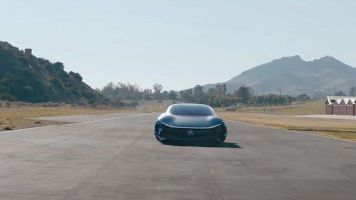 Mercedes-Benz Vision AVTR: Die Zukunft des Luxus' fährt erstmals