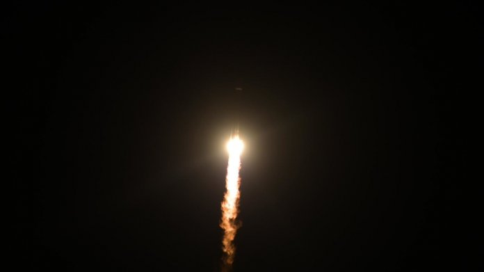 Rakete kurz nach dem Start