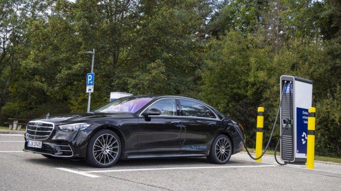 Mercedes S-Klasse PHEV