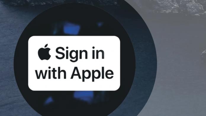Mit Apple anmelden