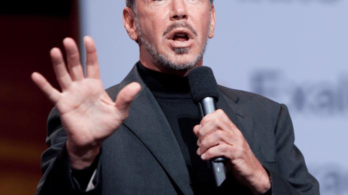 Oracke-Mitgründer Larry Ellison