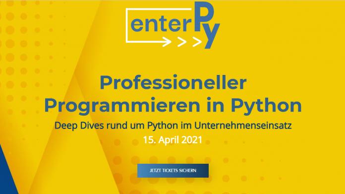 enterPy 2021: Professioneller Programmieren in Python