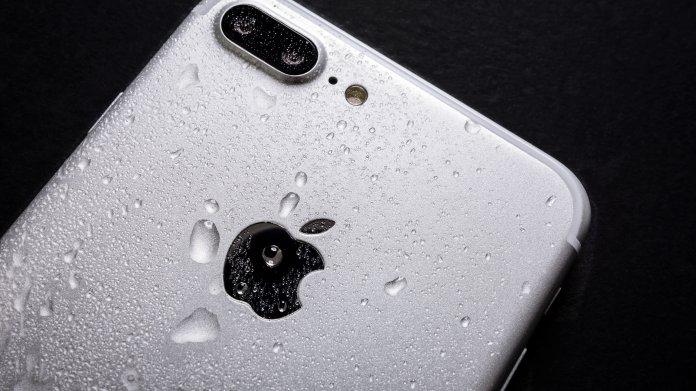 Rückseite eines iPhone 6