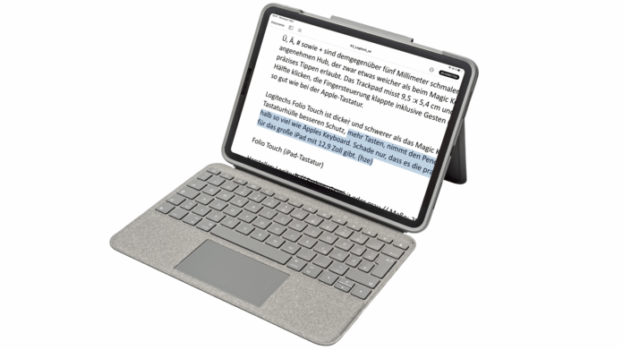 Logitech Folio Touch