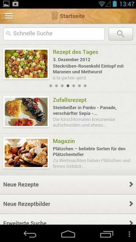 Kochen Und Backen App rezepte apps fürs kochen und backen heise