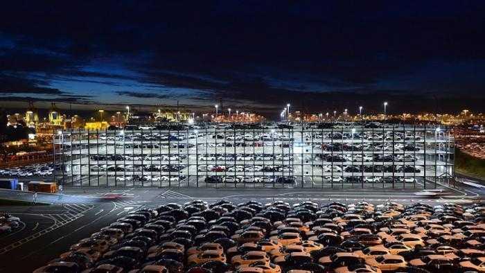 Autoausfuhr über Bremerhaven