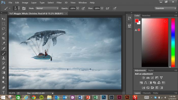 Photoshop für Finger- und Stiftbedienung