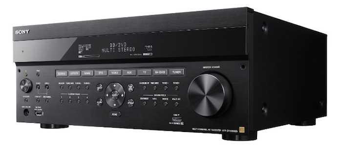 Sonys erster AV-Receiver mit Dolby-Atmos-Decoder soll im Frühjahr 2016 in den USA erhältlich sein.