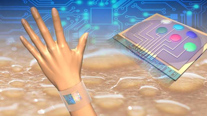 Neues Sensorsystem analysiert chemische Stoffe im Schweiß