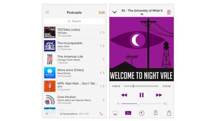 Podcast-App Instacast ist zurück