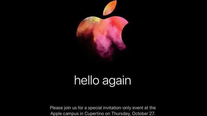 Hallo nochmal: Apple lädt offiziell zum Mac-Event