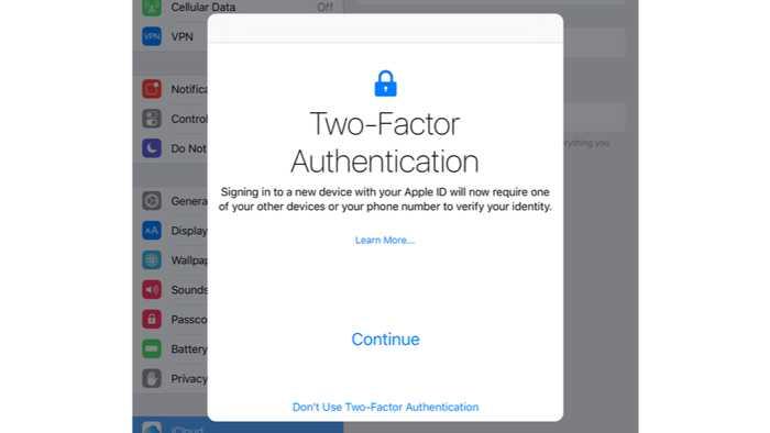 Apple behebt Anmeldeproblem bei der Zwei-Faktor-Authentifizierung