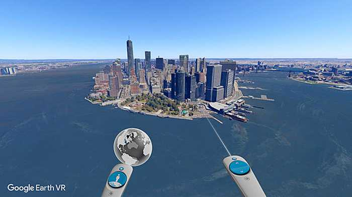 Google Earth jetzt auch in Virtual Reality