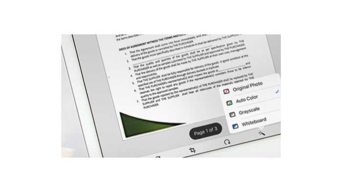 Acrobat Reader für iOS lernt scannen
