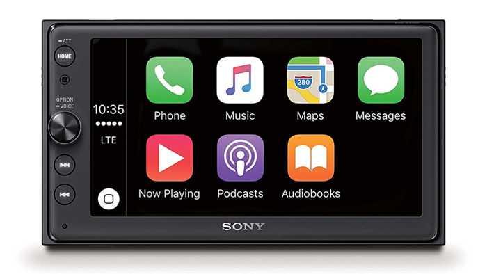 CarPlay-Nachrüstsatz von Sony für 450 Euro