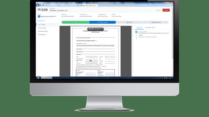 Signaturportal: Digital unterschreiben mit FP-Sign