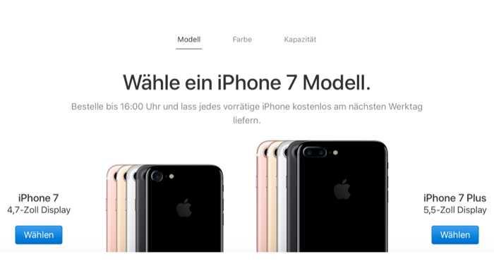 Technisches Problem: iPhone bei Apple nicht kaufbar
