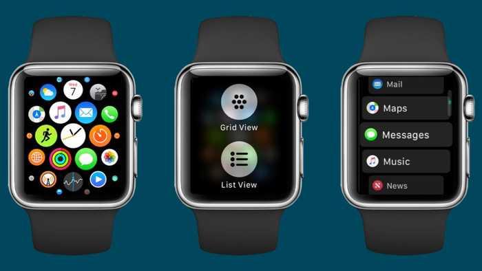 watchOS 4 auf Wunsch mit neuem Homescreen