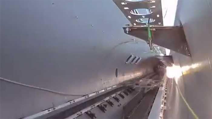 Hyperloop One verkündet ersten erfolgreichen Test in Originalgröße