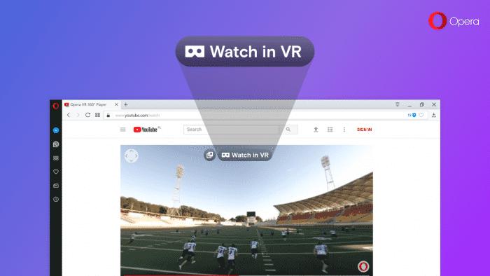 Opera unterstützt VR-Rundum-Videos