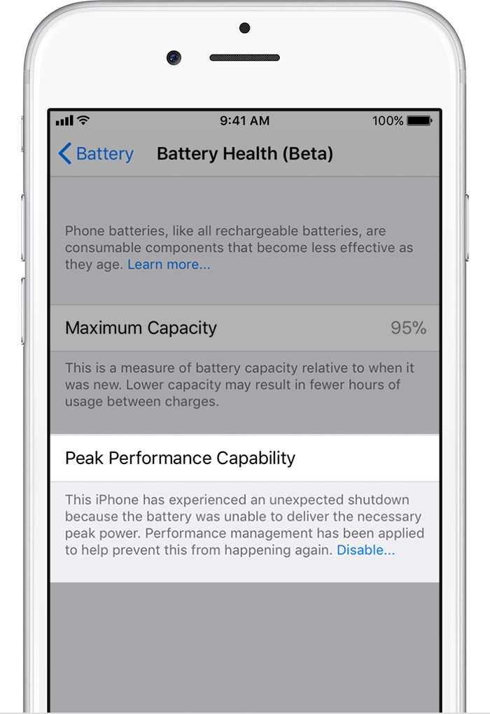 iOS 11.3 ermöglicht erstmals, die Drosselung wieder abzuschalten –zumindest bis sich das iPhone das nächste Mal unerwartet abschaltet.
