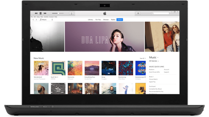 iTunes unter Windows