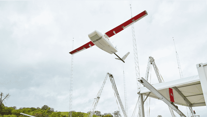 Drohnen-Dienst Zipline verzehnfacht Lieferkapazität