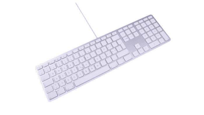Reinkarnation von Apples kabelgebundener Mac-Tastatur