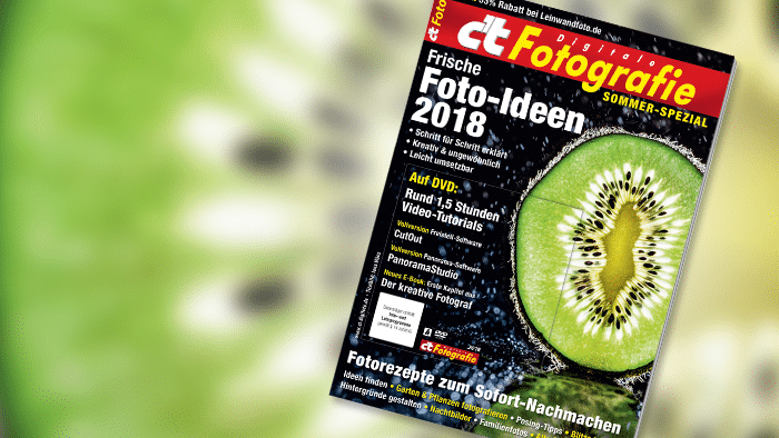 c't Fotografie Sommer-Spezial: Frische Ideen für Fotoprojekte