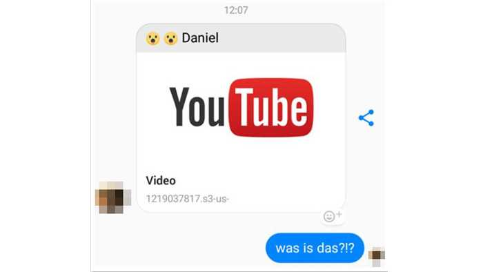 Phisher kapern über vermeintliche Youtube-Links Facebook-Accounts