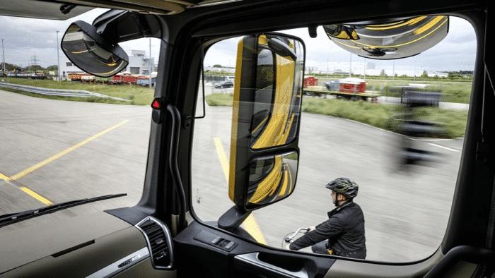 Probleme mit Radfahrer- und Fußgänger-Erkennung bei Lkw