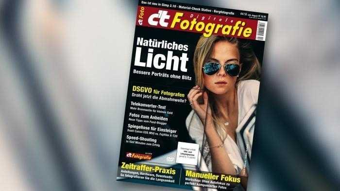 c't Fotografie: Manuell scharfstellen, bewusster fotografieren