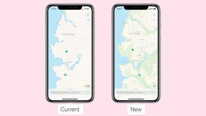Bessere Apple-Maps-Karten zunächst nur in den USA