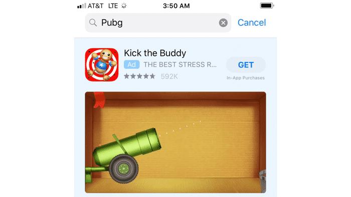Kritik an Apples App-Store-Reklame