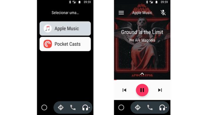 Apple Music kommt in Google-Fahrzeuge