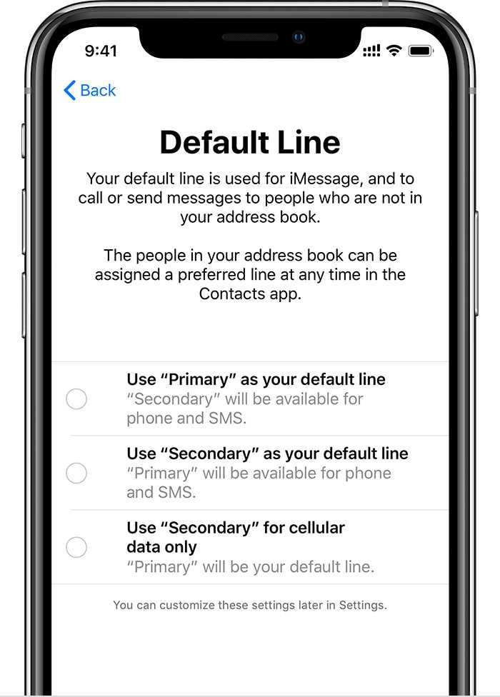 In iOS 12 können Nutzer einstellen, wie die zwei Mobilfunkanschlüsse zusammenspielen.