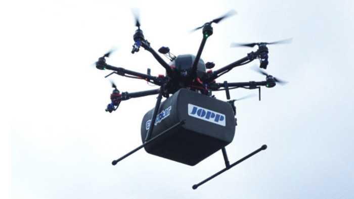 Drohnen-Pilotversuch in Zürich