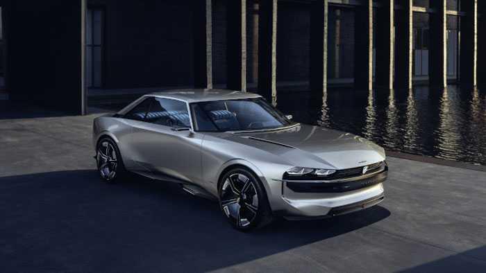 Elektroauto: Peugeots E-Legend fährt auf den Spuren des Klassikers 504