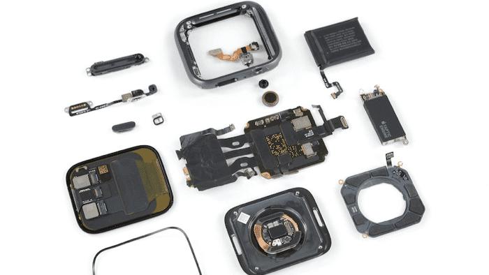 Apple Watch Series 4: Weniger Klebstoff und kleinerer Akku