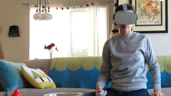 Oculus-Veranstaltung per Oculus Go ausprobiert