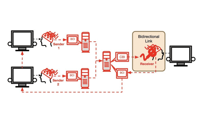 """Wissenschaftler bauen """"soziales Netzwerk"""" zur Kommunikation zwischen Gehirnen"""