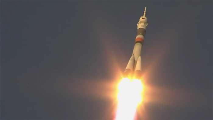 Start geglückt: Wieder drei Raumfahrer auf dem Weg zur ISS
