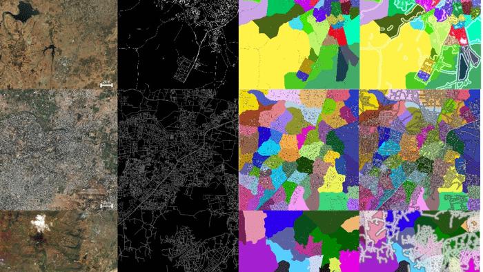 Adressen aus Satellitenbildern