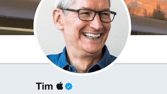 """""""Tim Apple"""": Cook setzt Trump-Meme auf Twitter fort"""