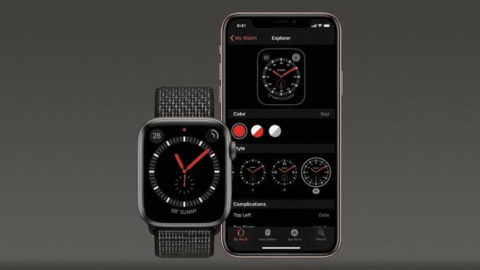 Apple: Watch-Update sorgt für ziffernloses Zifferblatt