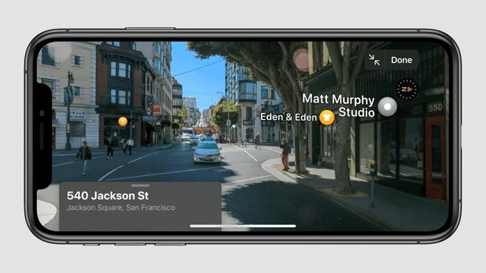 Strassenansichten Apple Lasst Sich Bei Maps Von Google Inspirieren